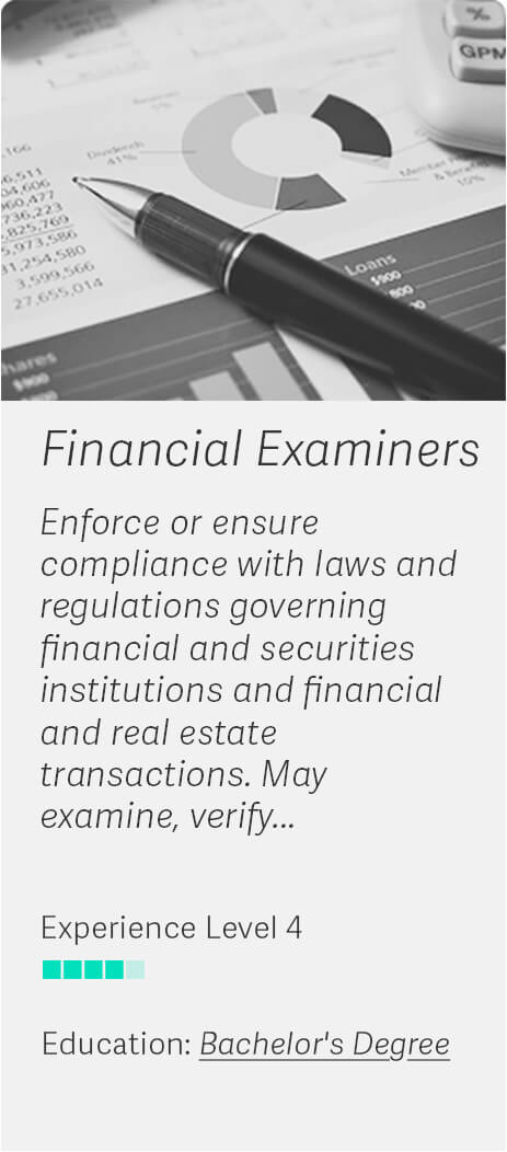 Career Match: Financial Examiners